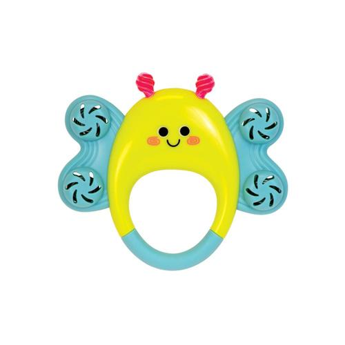 The Manhattan Toy Company Butterfly Tambourine Rattle