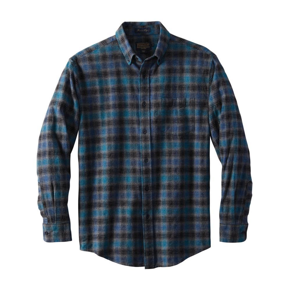 Pendleton Men's Lister Flannel Shirt BLUEBLK
