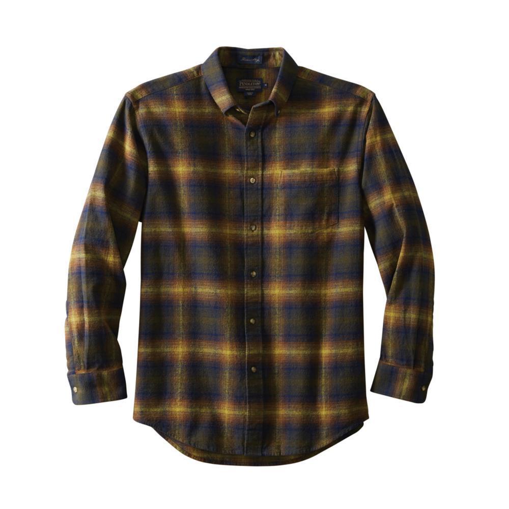 Pendleton Men's Lister Flannel Shirt OLIVEBLUE
