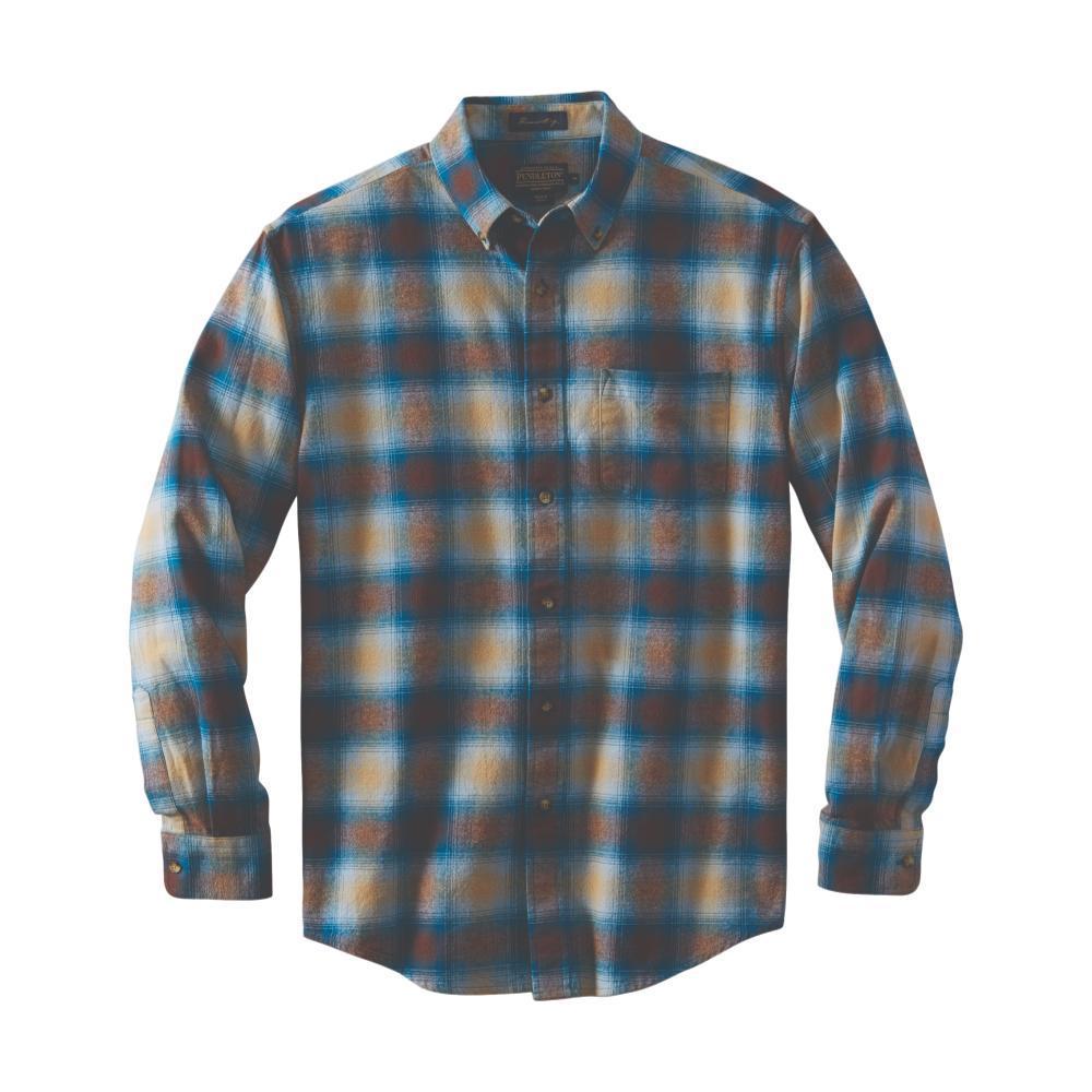 Pendleton Men's Lister Flannel Shirt TEALBROWN