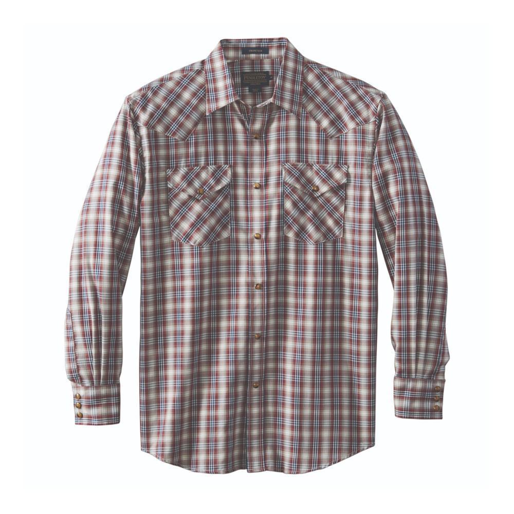 Pendleton Men's Herringbone Frontier Shirt ROSETEAL