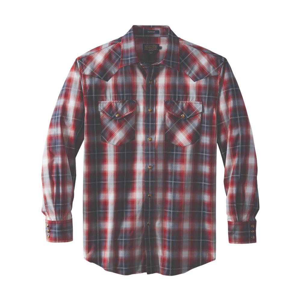 Pendleton Men's Frontier Shirt Long Sleeve BLUEROSE