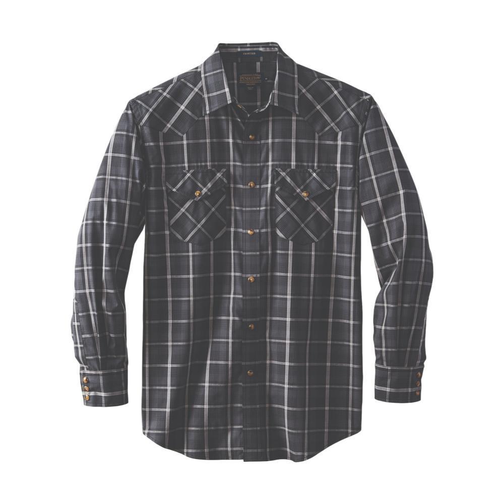 Pendleton Men's Frontier Shirt Long Sleeve GREYBLK