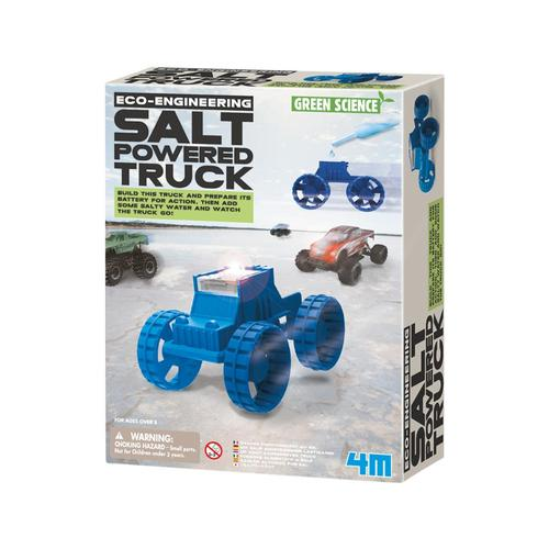 4M Green Science Salt-Powered Truck Kit