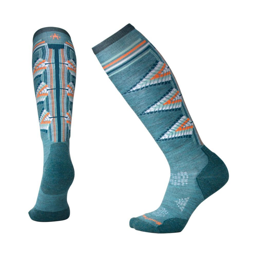 Smartwool Women's PhD Ski Light Pattern Socks MEDGREN_A19