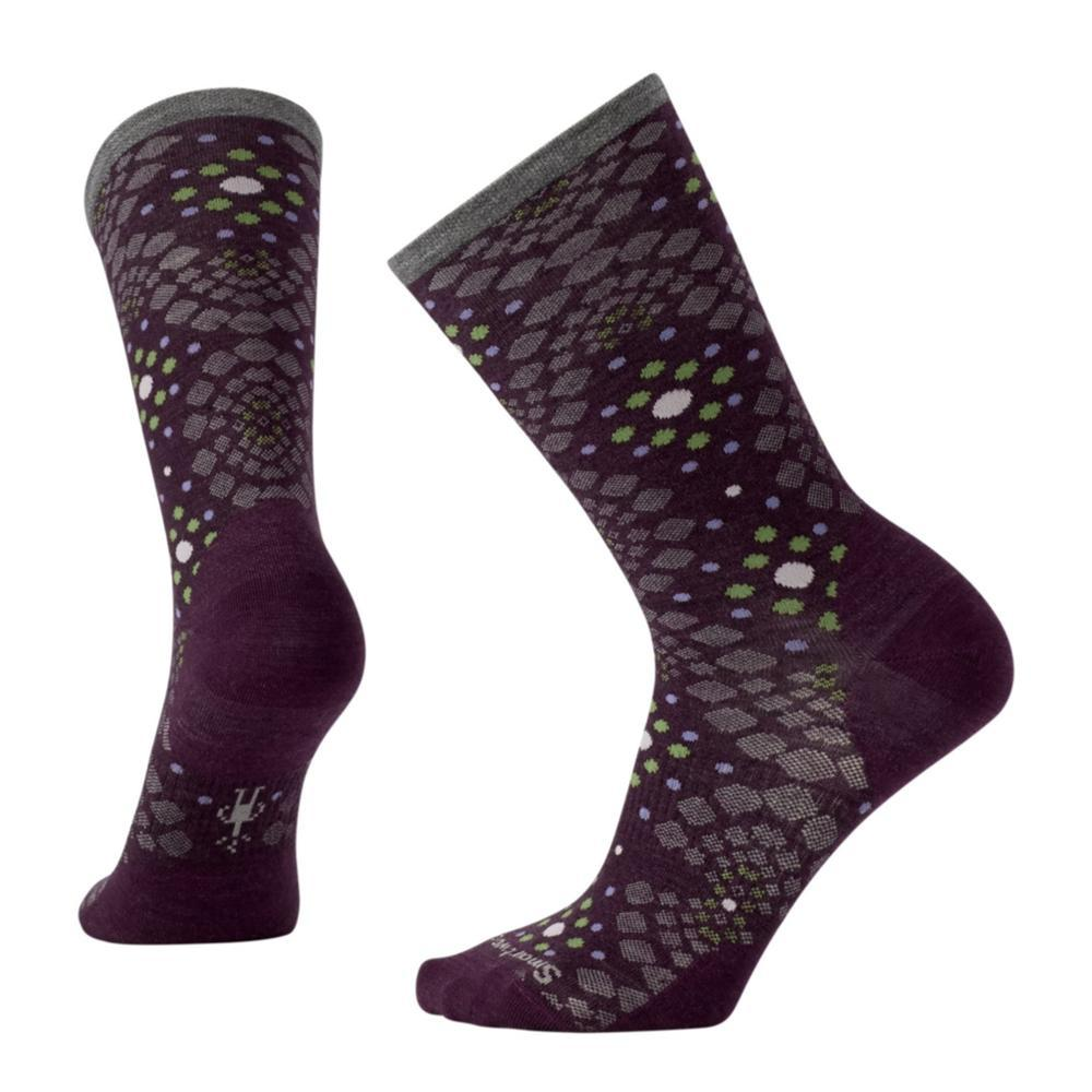 Smartwool Women's Pompeii Pebble Crew Socks BORDEAUX_587