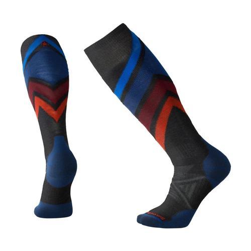 Smartwool PhD Ski Medium Pattern Socks Charcoa_003