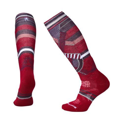 Smartwool Women's PhD Ski Medium Pattern Socks Tibetrd_a25