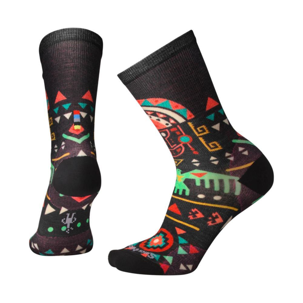 Smartwool Women's Totem Valley Curated Crew Socks BLACK_001