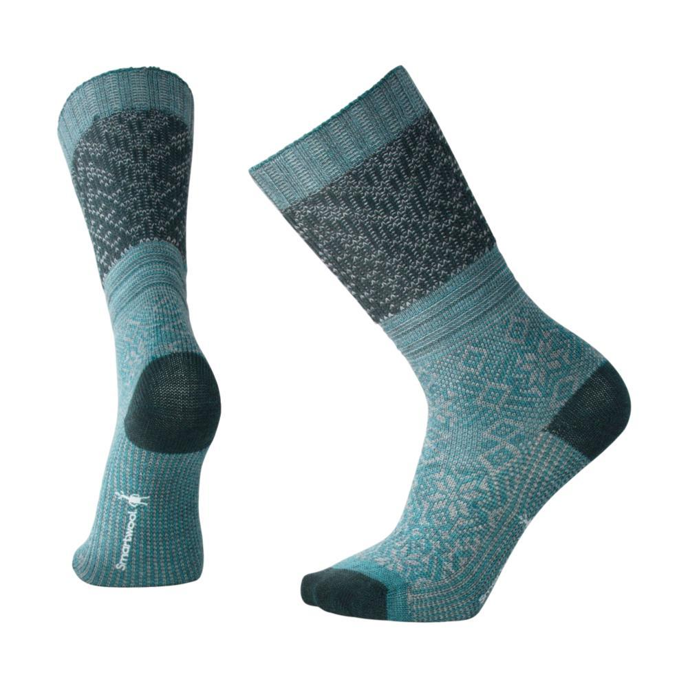 Smartwool Women's Snowflake Flurry Socks MDGREEN_A60