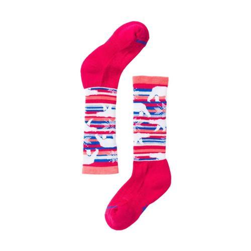 Smartwool Kids Wintersport Polar Bear Socks Pink_906