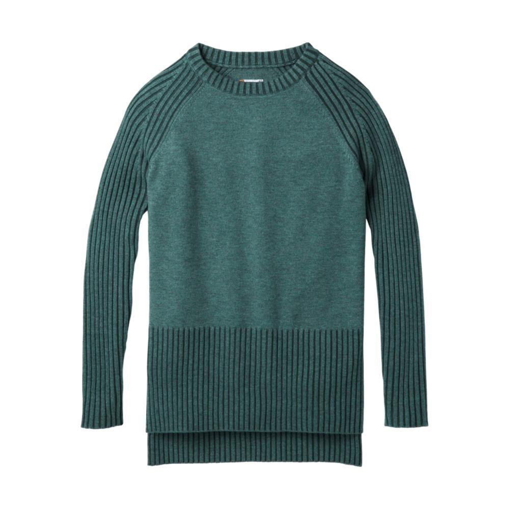 Smartwool Women's Ripple Creek Tunic Sweater MEDITGREEN