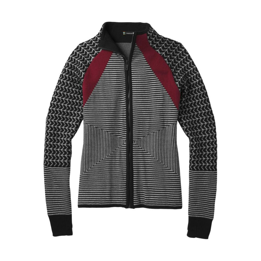Smartwool Women's Dacono Ski Full Zip Sweater BLACK
