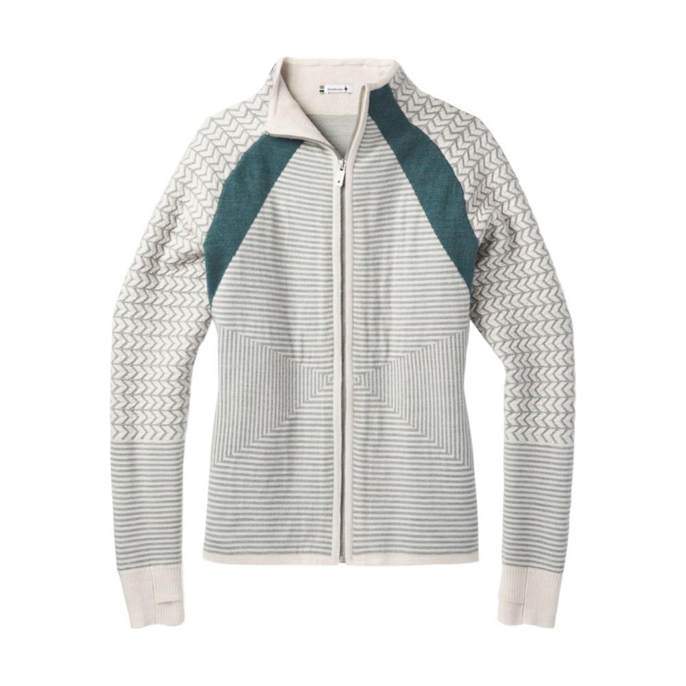 Smartwool Women's Dacono Ski Full Zip Sweater MOONBEAM