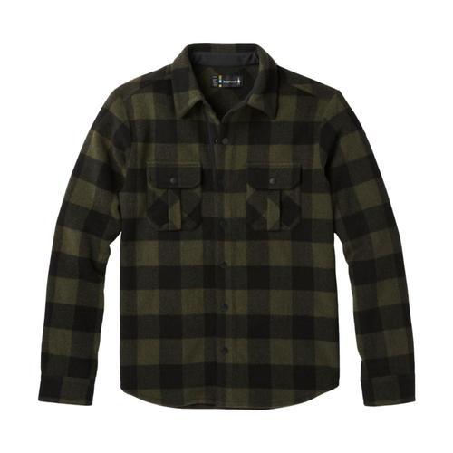 Smartwool Men's Anchor Line Shirt Jacket Olive