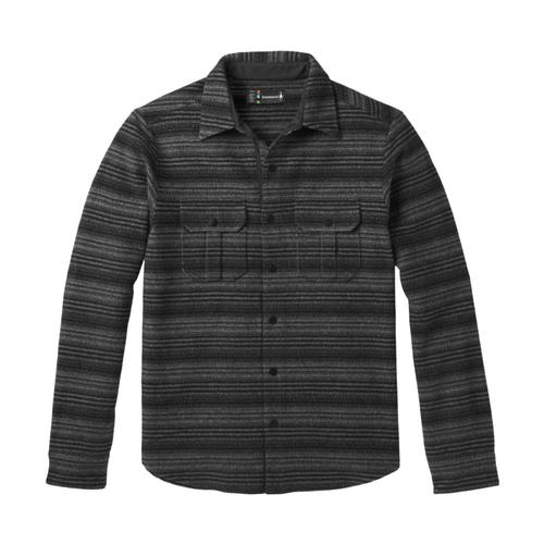 Smartwool Men's Anchor Line Stripe Shirt Jacket Medgray