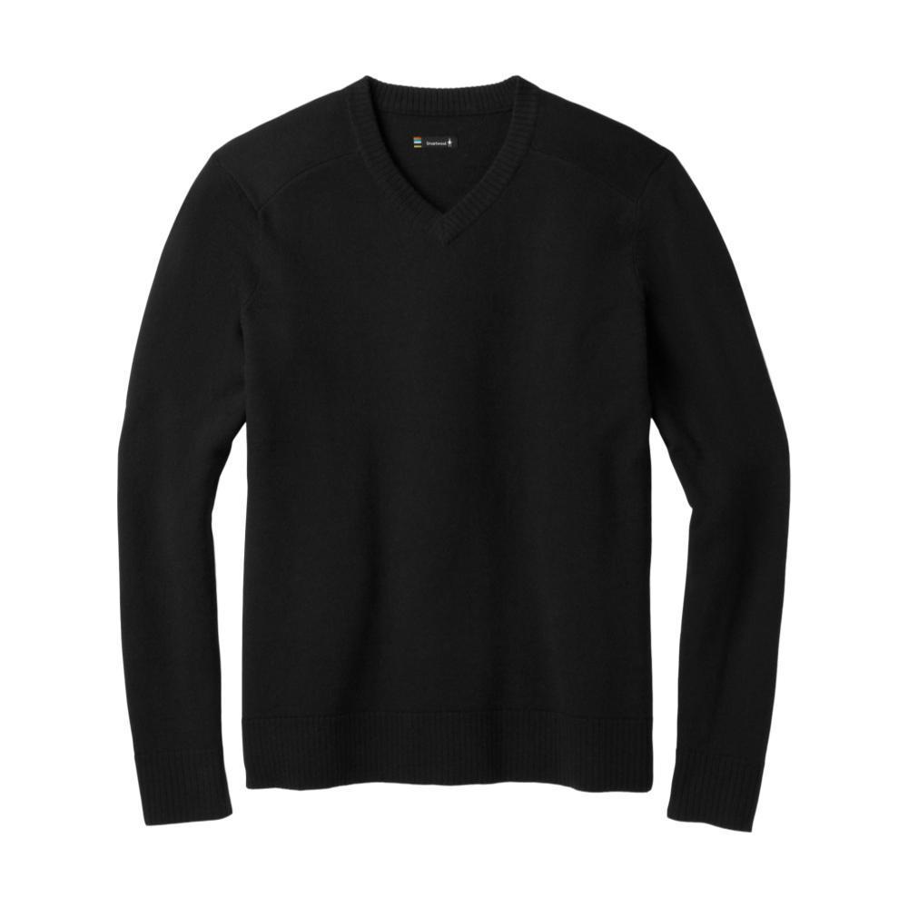 Smartwool Men's Sparwood V-Neck Sweater BLACK