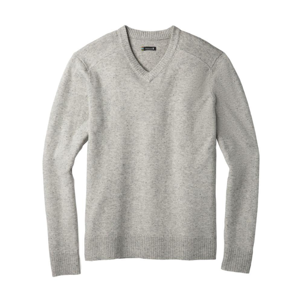 Smartwool Men's Sparwood V-Neck Sweater LTGREY