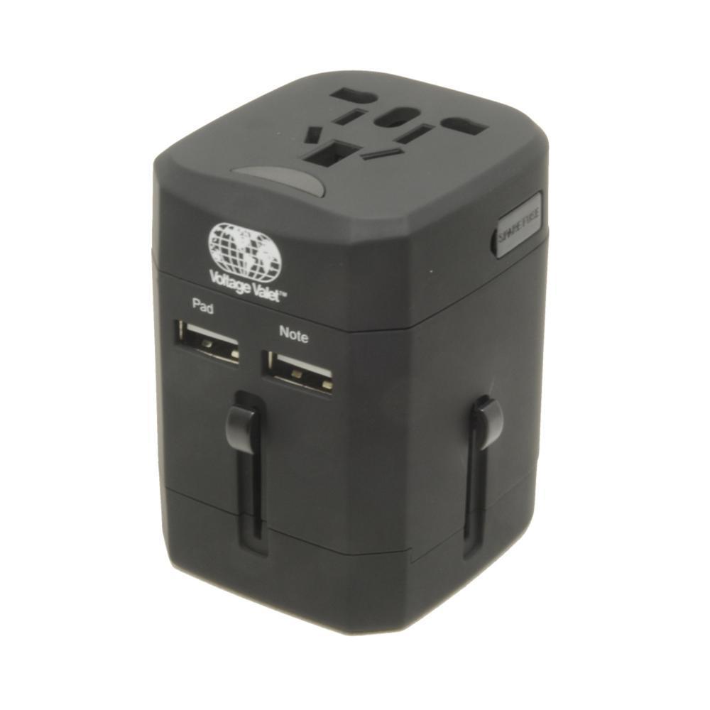 Voltage Valet Black Universal AC Outlet Adapter BLACK