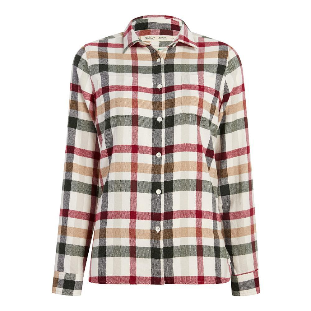 Woolrich Women's Pemberton Flannel Shirt IVORYMULTI