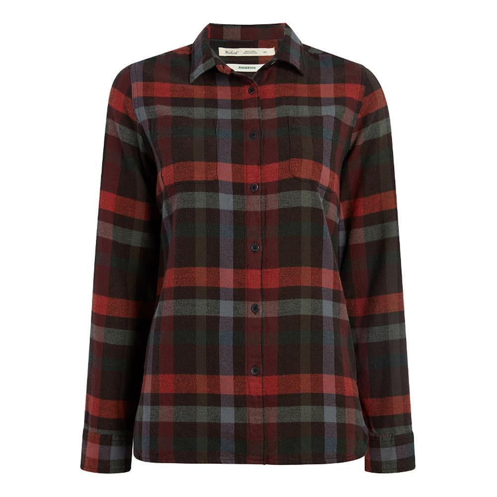 Woolrich Women's Pemberton Flannel Shirt PINECONE