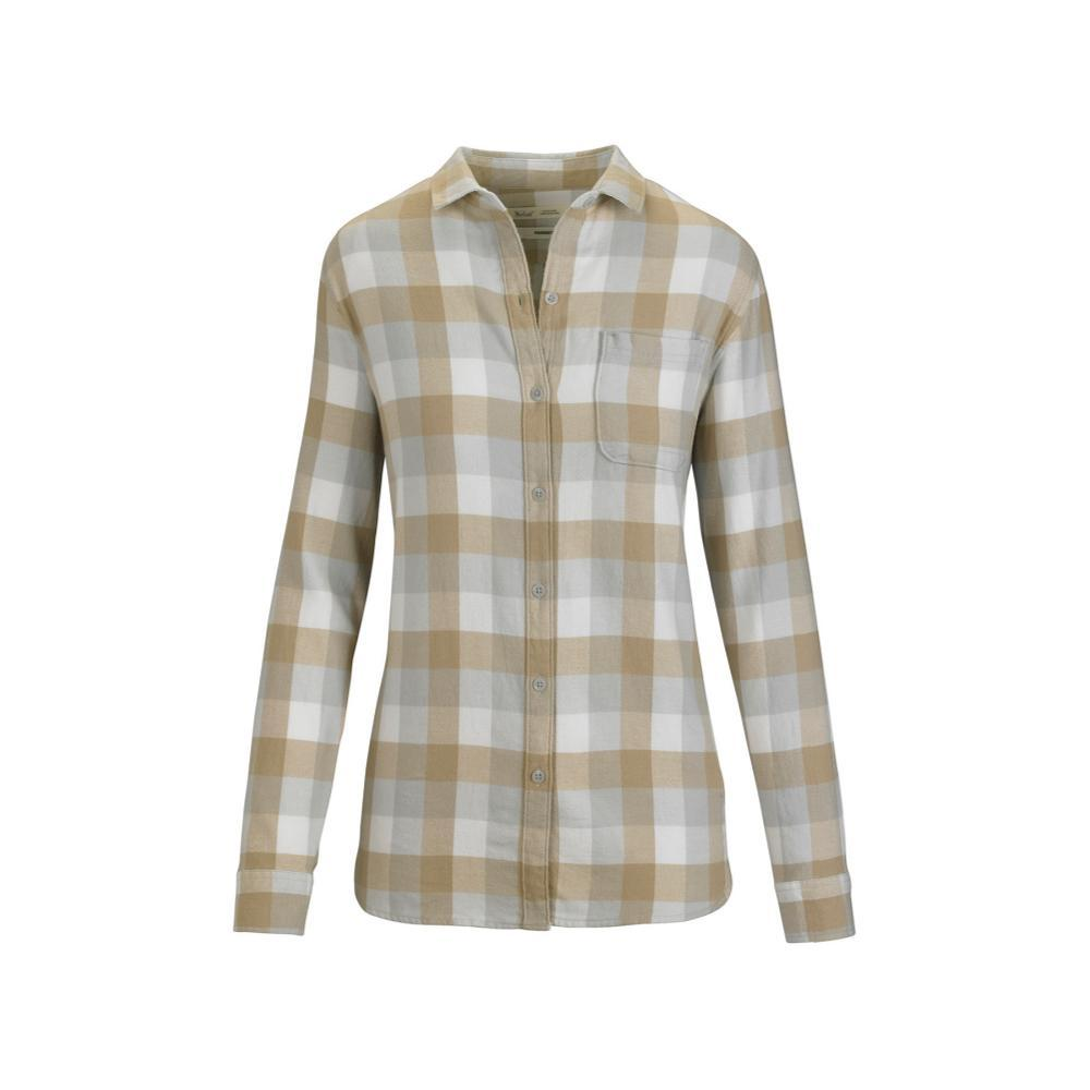 Woolrich Women's Pemberton Boyfriend Tunic Flannel Shirt SALTWATER