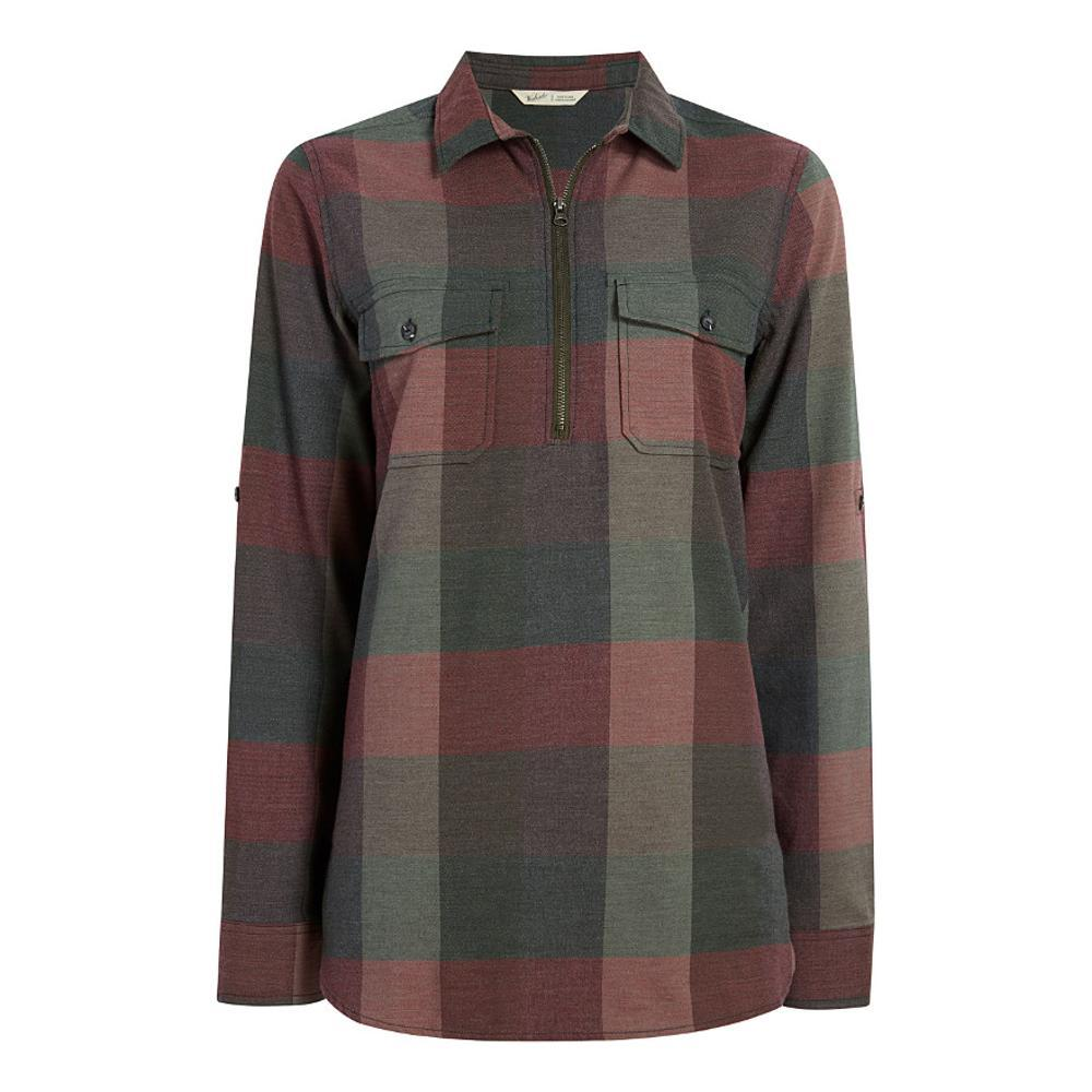 Woolrich Women's Any Point Convertible Flannel Shirt SYCAMORE