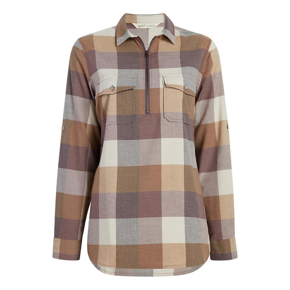 Woolrich Women's Any Point Convertible Flannel Shirt WILDASTER