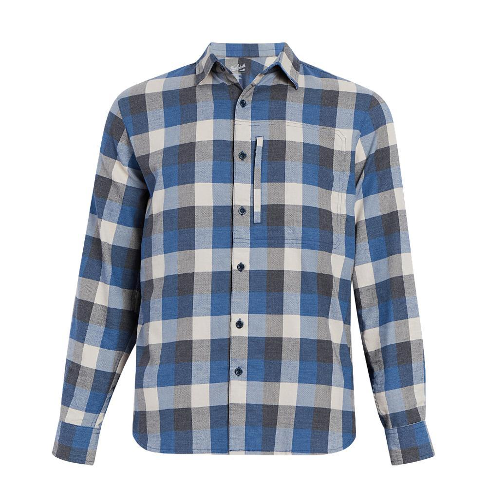 Woolrich Men's Any Point Shirt ALPINEBLUE