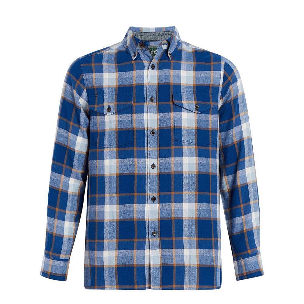 Woolrich Men's Eco Rich Stone Rapids Shirt ALPINEBLUE
