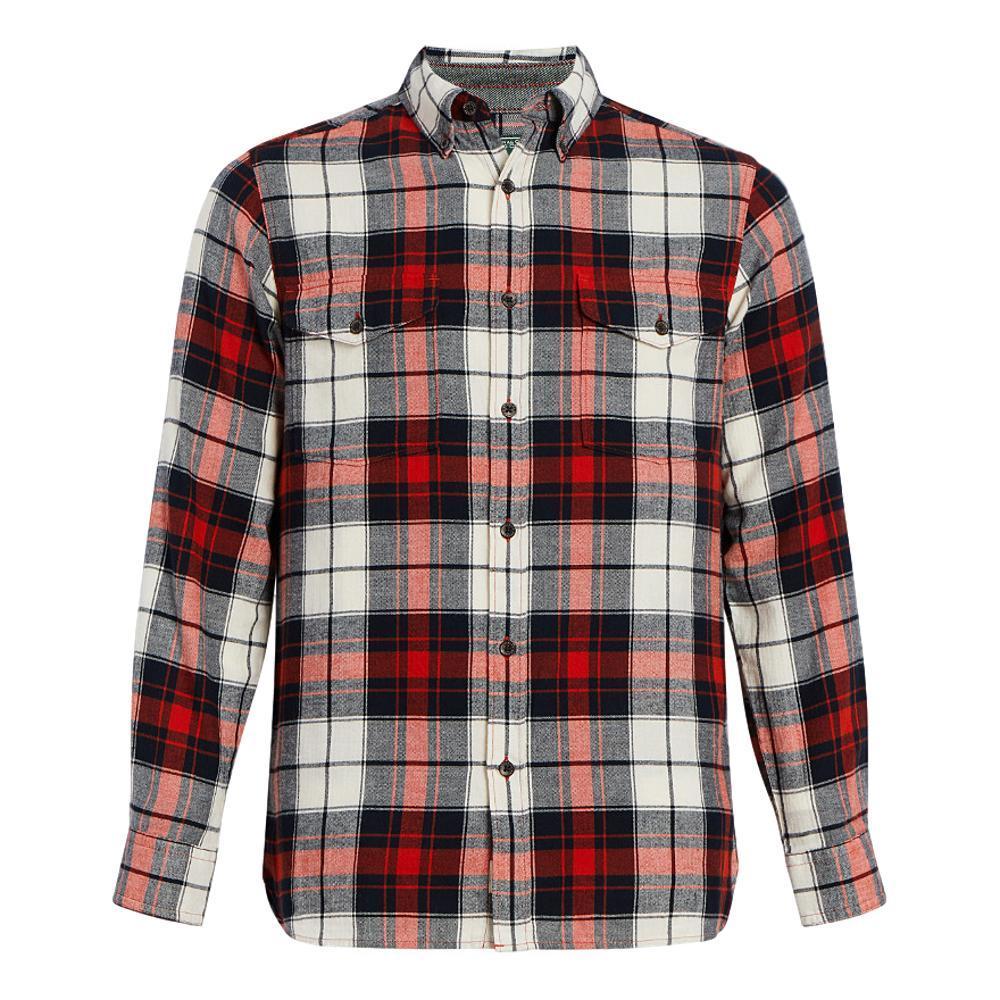 Woolrich Men's Eco Rich Stone Rapids Shirt CARMINE