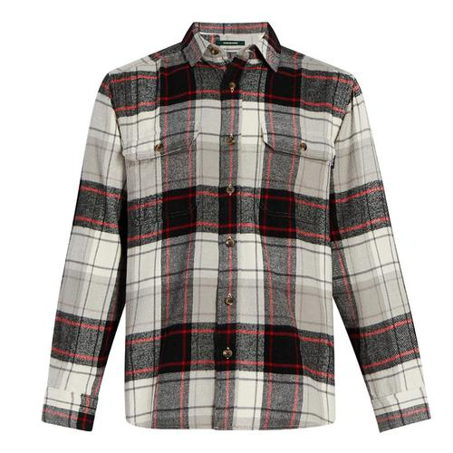 Woolrich Men's Oxbow Bend Plaid Flannel Shirt Eaglefeath