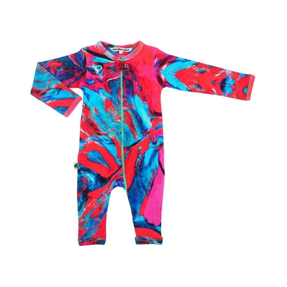 Inchworm Alley Infant Long Sleeve Romper MARTINQUE