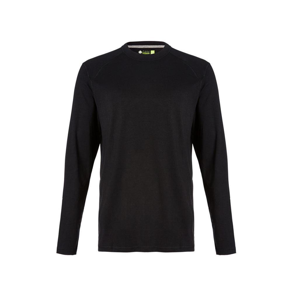 tasc Men's Carrollton Long Sleeve Shirt BLACK