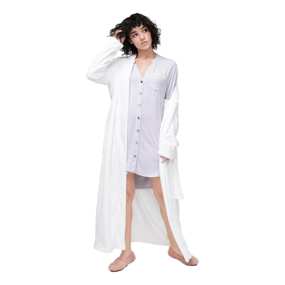 UGG Women's Vivian Knit Stripe Sleep Dress LAVENDER