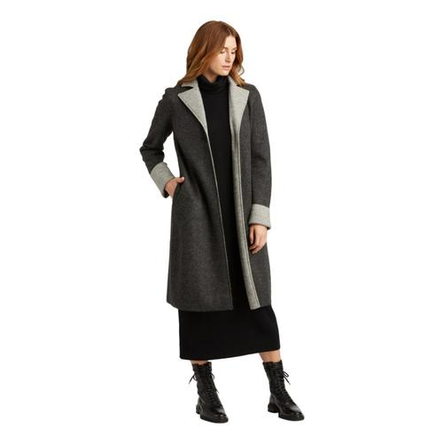 Indigenous Designs Women's Double Faced Boiled Wool Coat