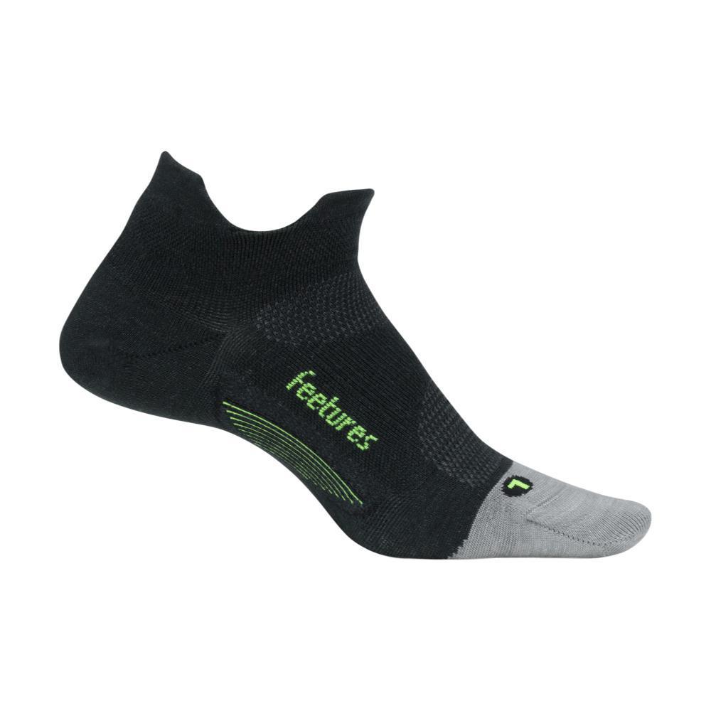 Feetures Merino 10 Ultra Light Cushion No-Show Socks CHARCOAL