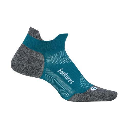 Feetures Elite Ultra Light Cushion No-Show Socks Emerald