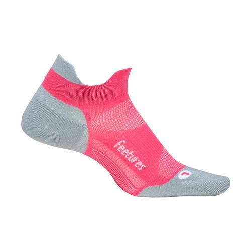 Feetures Elite Cushion No-Show Socks Coral