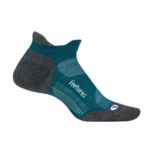 Feetures Elite Max Cushion No-Show Socks Emerald