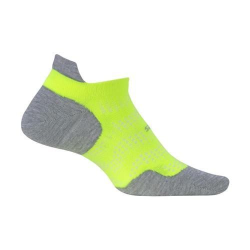 Feetures High Performance Ultra Light Cushion No-Show Socks Reflector