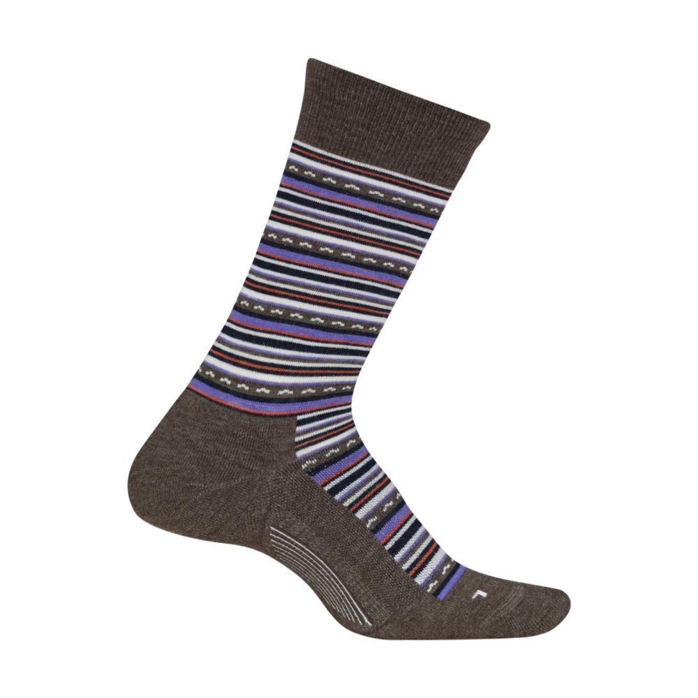 Feetures Women's Horizon Cushion Crew Socks TAUPE