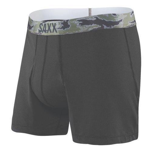 Saxx Men's Quest Loose Cannon Boxers Black