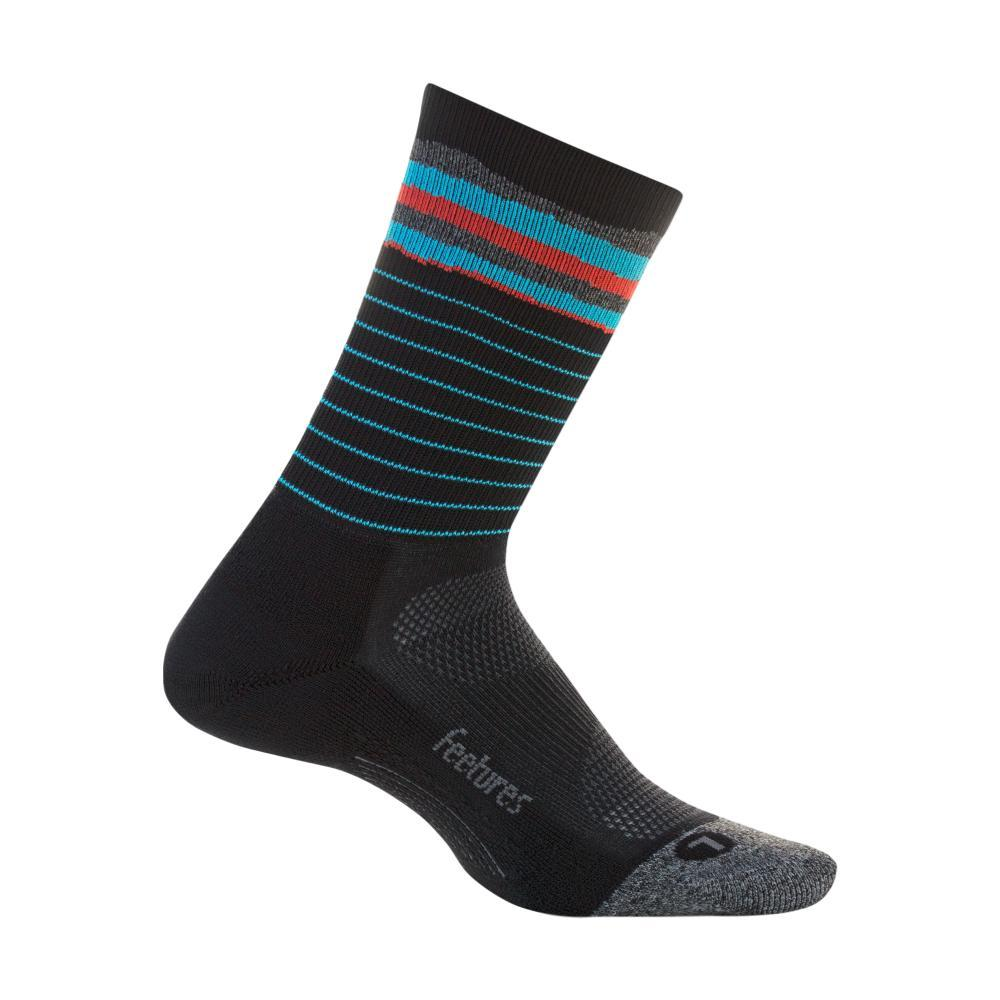 Feetures Elite Light Cushion Mini Crew Socks CASCADEBLK