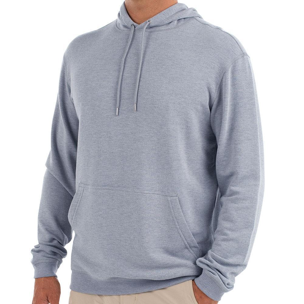 Free Fly Men's Bamboo Fleece Pullover Hoody SLATEBLUE