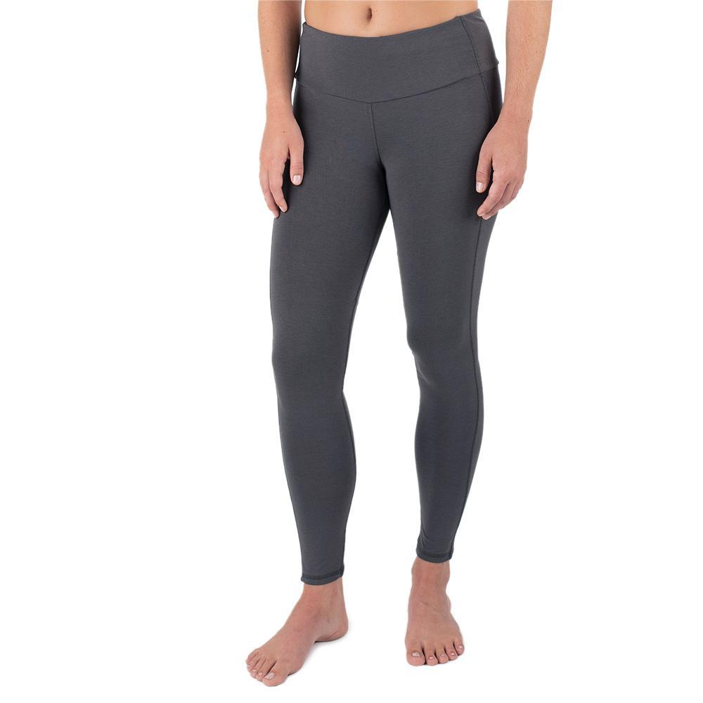 Free Fly Women's Bamboo Full Length Tights CHARCOAL