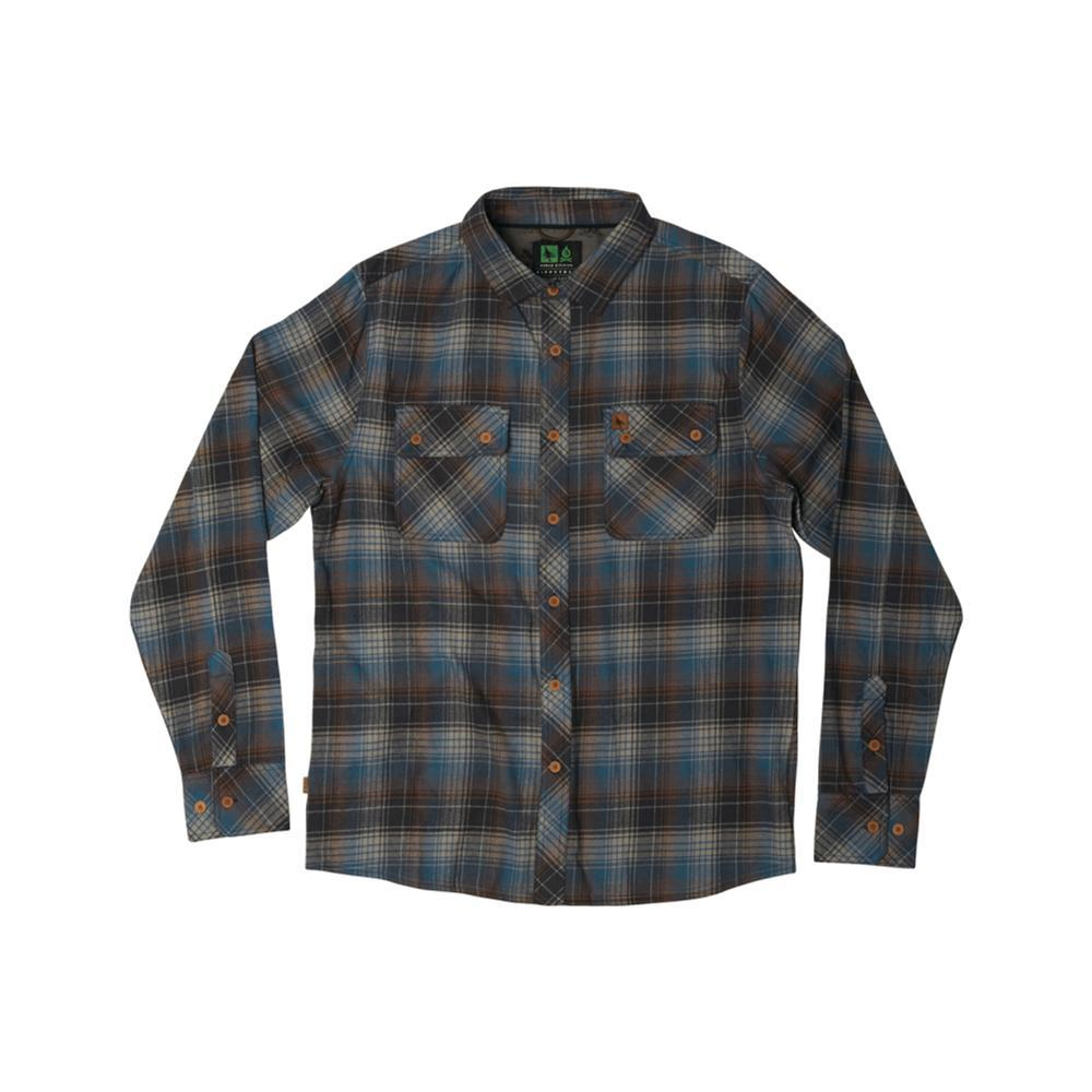 Hippy Tree Men's Sheldon Flannel BLUE