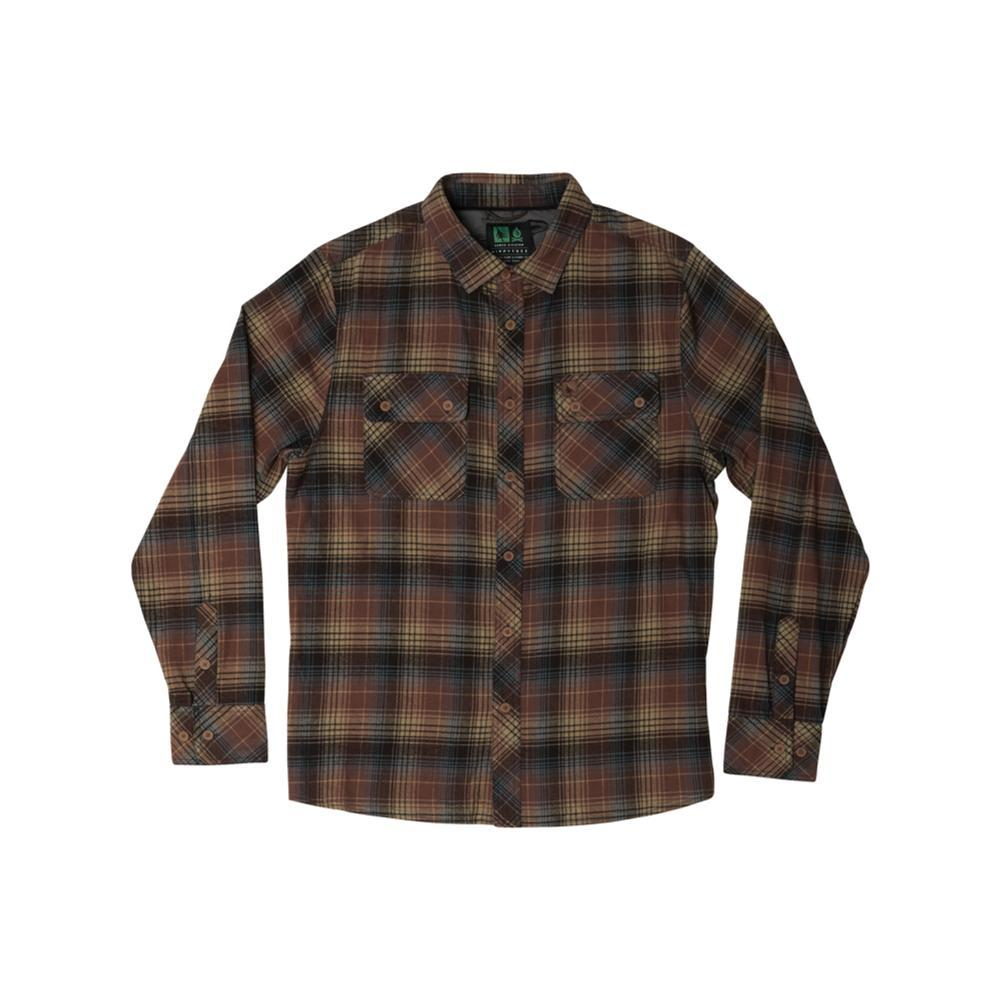 Hippy Tree Men's Sheldon Flannel RUST
