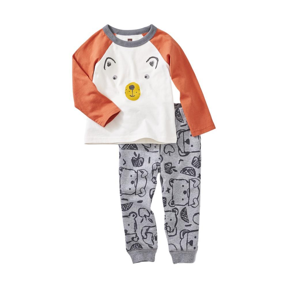 Tea Collection Infant Boys Osito Baby Set CHALK