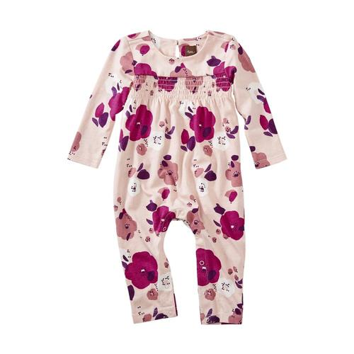 Tea Collection Infant Girls Smocked Romper Forestfriends